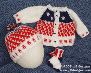 Even More Red, White and Blue Knitting for Summer – 24 free patterns