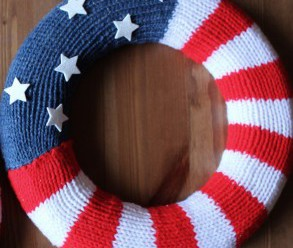 Patriotic Knits – Red, White and Blue – 35 free patterns from Grandmother's Archives