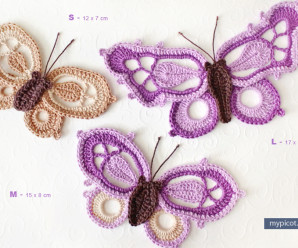 Crochet Butterflies – 34 free patterns from Grandmother's Archives