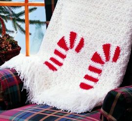 More Lovely Christmas Afghans to Crochet – 17 free patterns
