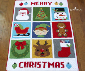 Lovely Christmas Afghans to Crochet – 28 free patterns