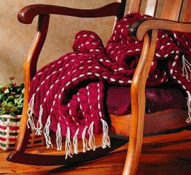 A Few More Christmas Afghans to Knit – 13 free patterns