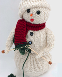 It's time for Christmas in July! So Many Snowmen to Knit – two dozen free patterns