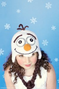 Frozen Olaf Inspired Hat Crochet Pattern 3