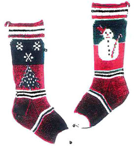 ennis-6203c-stocking3-snowman-snowflakes-profile