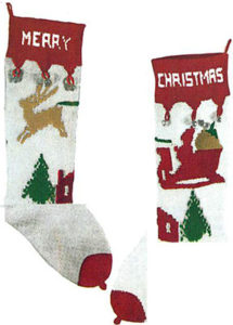 ennis-9002c-stocking2-reindeer-sleigh-profile