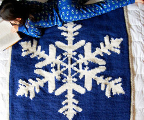 Lovely Christmas Afghans to Knit – 22 free patterns