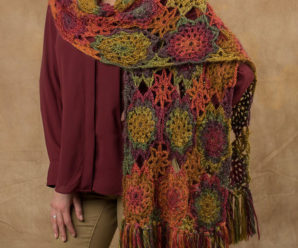 Capes and Wraps to Crochet in Gorgeous Fall Colors – 22 free patterns
