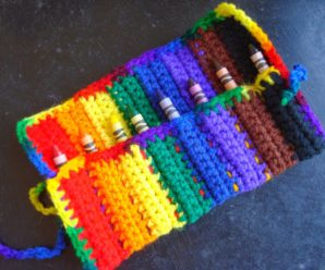 16 More Free Pen/Pencil/Crayon Theme Patterns to Crochet for Back to School