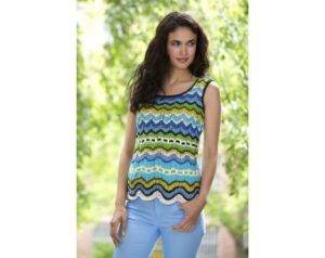 Knit-Pattern-Color-Waves-Tank-Top-L32022-a