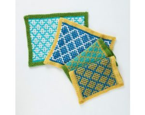 Free Modern Knitting Stitches : Isn t That Pretty! Slip Stitch or Mosaic Knitting   Learn A New Technique   1...