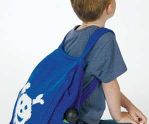 Back to School – Backpacks to knit – 33 free patterns