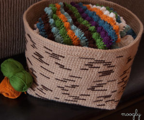 Baskets to Crochet for Fall – 27 free patterns