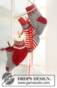 More Christmas Knitting From Garn Studio And Drops Design