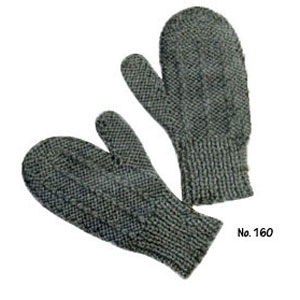 2 Needle Mittens Knit Pattern : Two Needle Mittens to Knit   22 free vintage patterns   Grandmothers Pat...