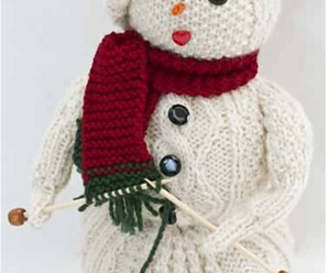 Knit a Snowman! – 27 free patterns