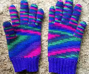 Winter Gloves to Crochet – 9 free patterns
