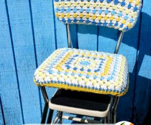 Crochet for your home – Chairs – 12 free patterns