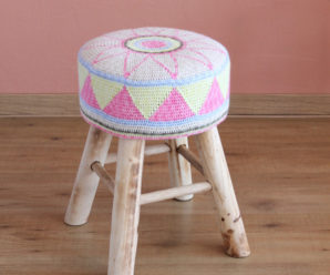 Crochet Floor Poufs, Footstools, Hassocks – 20 free patterns