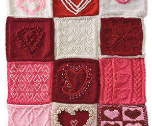 Knit an Afghan with Heart! – 11 free patterns