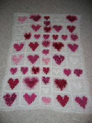 Crochet an Afghan with Heart – 17 free patterns