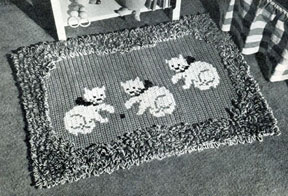 More Vintage Rugs to Crochet – 33 free patterns