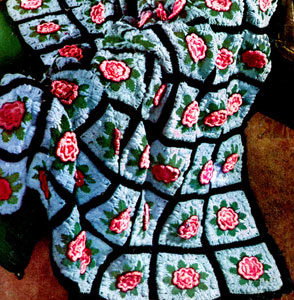 Beautiful Rose Afghans To Crochet 19 Free Patterns
