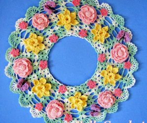 Rose Doilies to Crochet – 24 free patterns