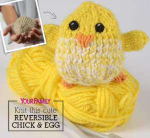 fc2f04648 Hens and Chicks to Knit for Spring – 26 free patterns ...