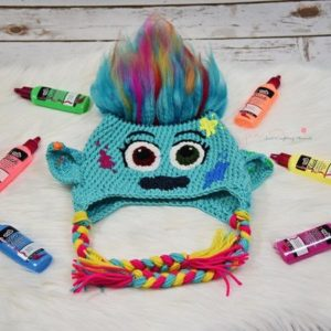 Crochet Pattern For Troll Hat : Trolls! ? 10 free patterns to crochet ? Grandmothers ...