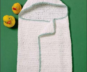 Reader Request – Baby Bath Towels to knit and crochet – free patterns