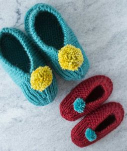 Free Crochet Patterns For Family Slippers : Reader Request ? Mother and Child Slippers ? free patterns ...