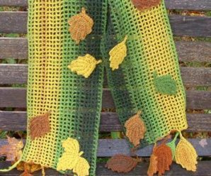 Autumn Leaves to Crochet for Fall – 22 free patterns