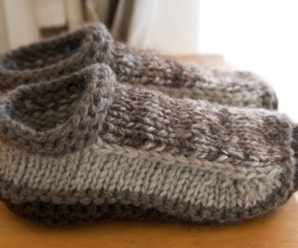 Slipper Socks and Booties – Great Gifts to Knit – free patterns
