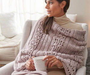 Warm and Pretty – Wraps to Crochet – 23 free patterns