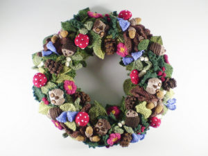 Knit Christmas Wreath Patterns Free Grandmother S Pattern Book