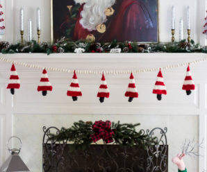 Knit a Christmas Garland – 16 free patterns