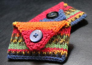 Knit A Christmas Gift Card Holder 19 Free Patterns