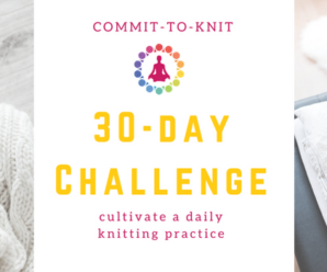 Knitting Challenges and KALs (knit alongs) for 2018