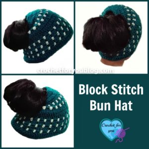 f524cc7c5b4 Quick Gifts to Crochet – Ponytail Beanies and Messy Bun Hats – 23 free  patterns
