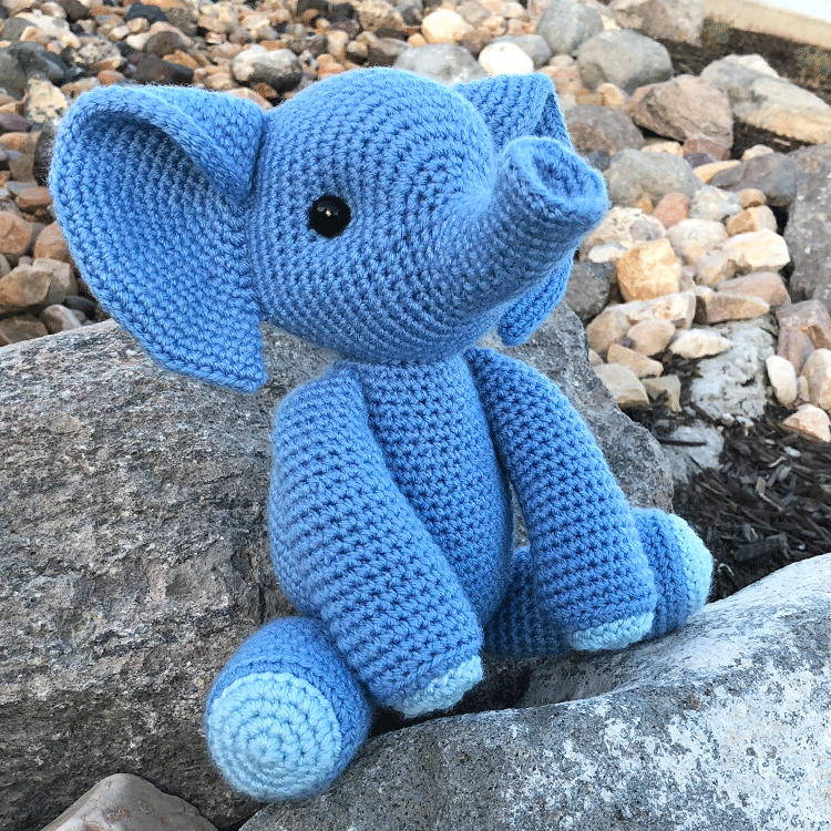 Elephants to Crochet – 13 free patterns – Grandmother's Pattern Book