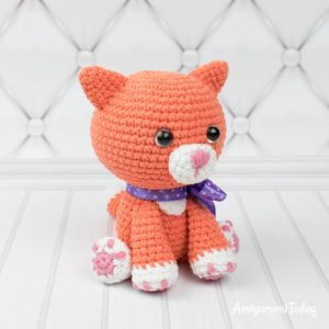 crochet amigurumi cat - All Crochet - All Crochet | 300x300