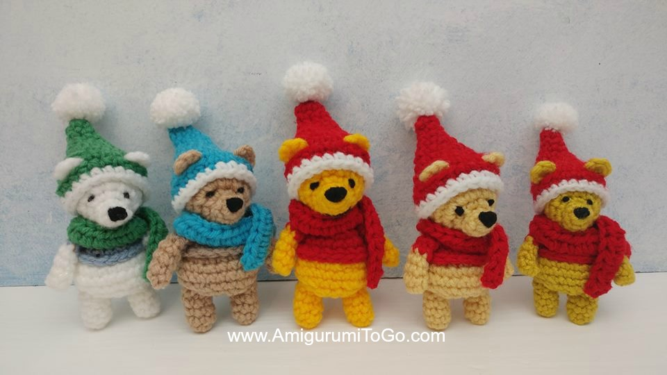 Amigurumi Christmas Ornament Set Knitting KIT - Christmas Ornament ... | 540x960
