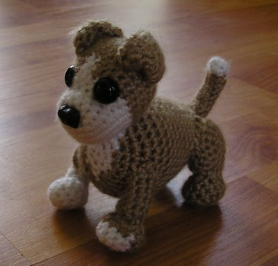 How to Crochet Amigurumi Dog with Free Pattern | Häkeln spielzeug ... | 382x400