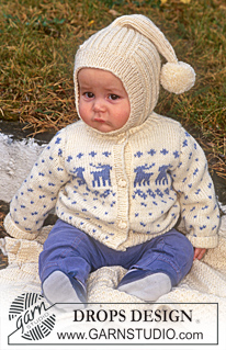 More Christmas Sweaters for Babies and Kids – free patterns