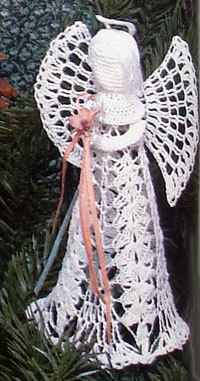 Beautiful Free Crochet Angel Pattern - Cynthia Banessa | 381x200