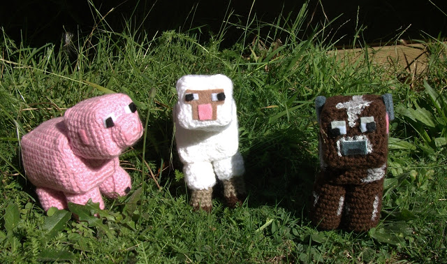 Crochet Pattern of Sheep from