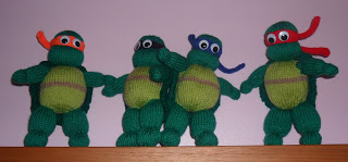 Free Crochet Pattern: Teenage Mutant Ninja Turtles | Crochet ... | 149x320