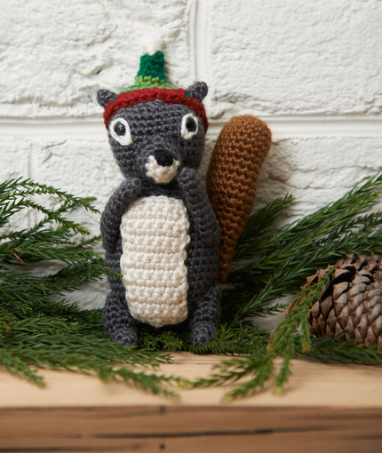 Amigurumi Squirrel Free Crochet Pattern - Amigurumi Free Patterns | 510x430