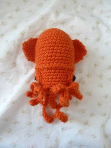 Amigurumi Crochet Sea Creature Animal Toy Free Patterns | Crochet ... | 500x375